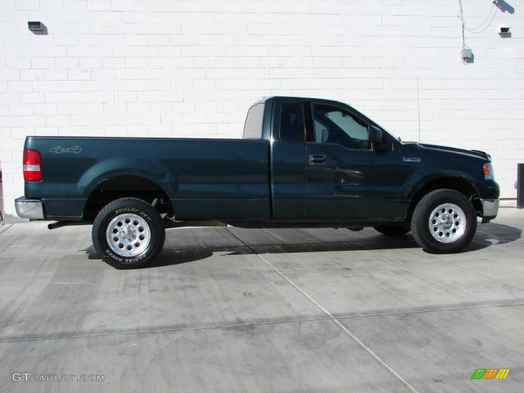 2004 aspen green metallic ford f150 xlt regular cab 4x4. Black Bedroom Furniture Sets. Home Design Ideas