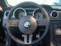 2009 Ford Mustang Black/Black Interior Steering Wheel Photo