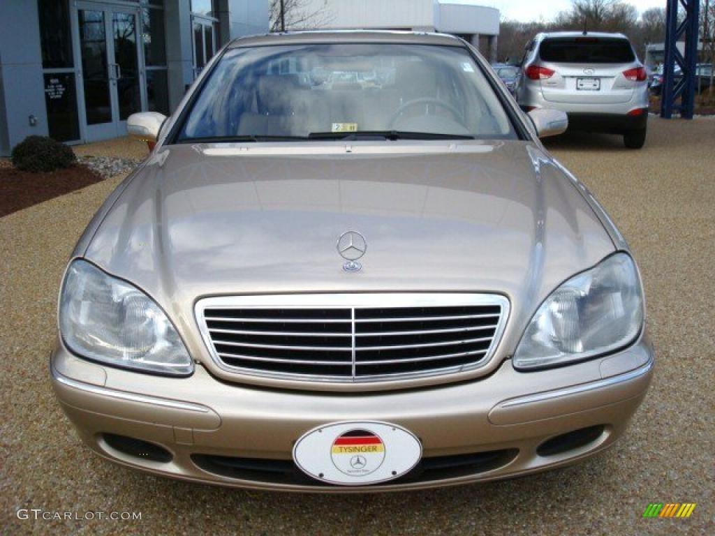 2002 desert silver metallic mercedes benz s 430 sedan for Mercedes benz s 430