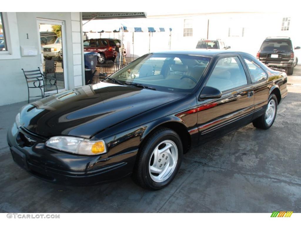 1997 Black Ford Thunderbird LX Coupe 26125676