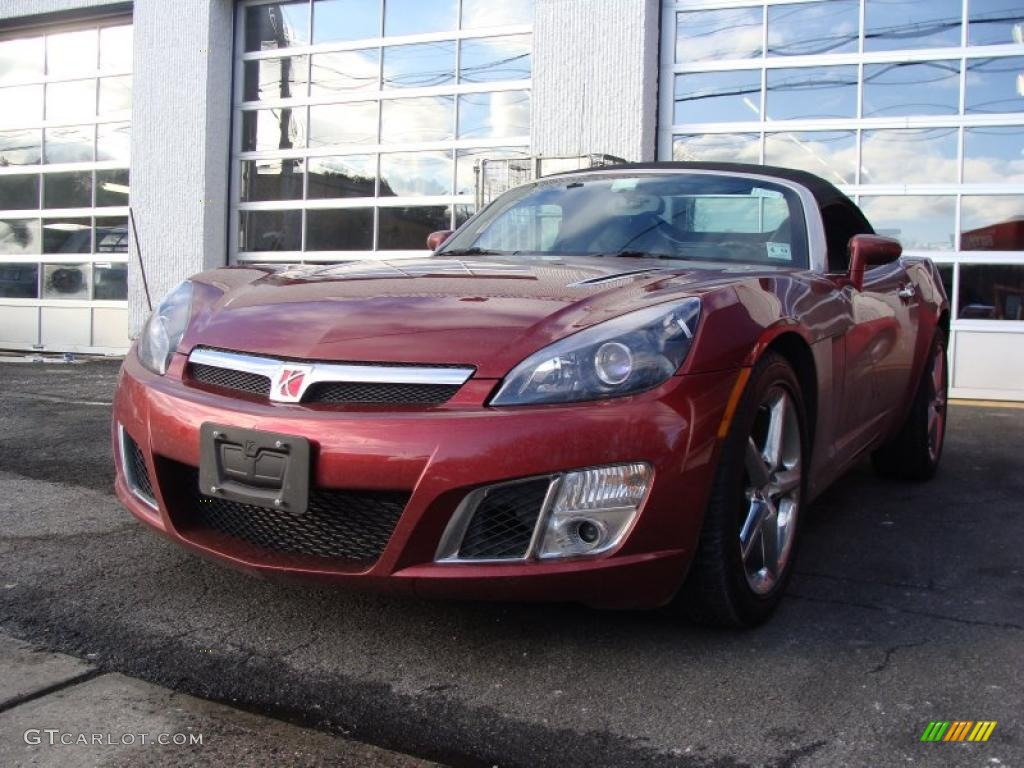 2009 ruby red saturn sky red line roadster 26125562 car color galleries. Black Bedroom Furniture Sets. Home Design Ideas