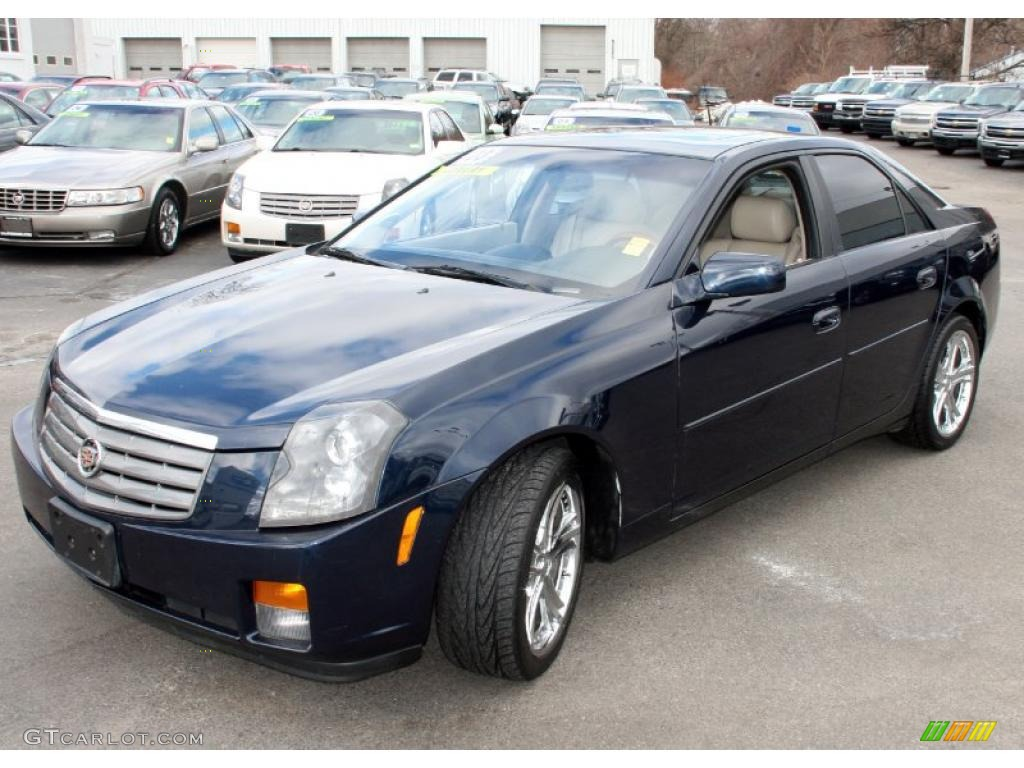 2003 blue onyx cadillac cts sedan 26177609. Black Bedroom Furniture Sets. Home Design Ideas