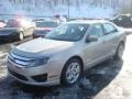 2010 Smokestone Metallic Ford Fusion SE  photo #7