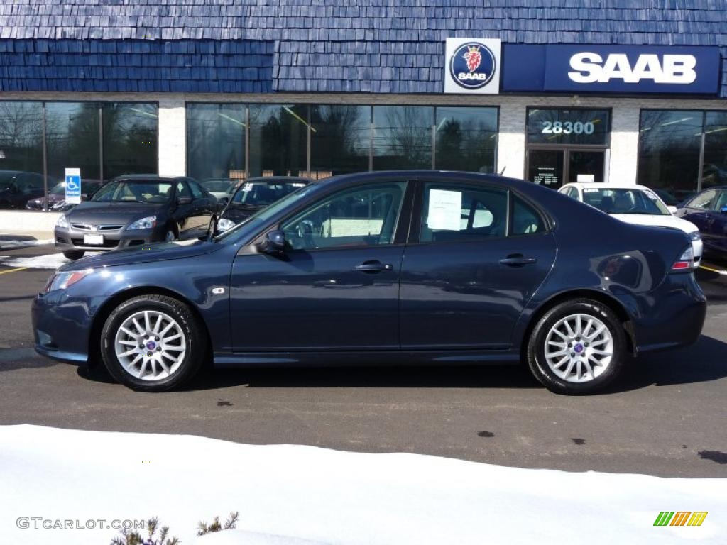 2008 nocturne blue metallic saab 9 3 2 0t sport sedan. Black Bedroom Furniture Sets. Home Design Ideas