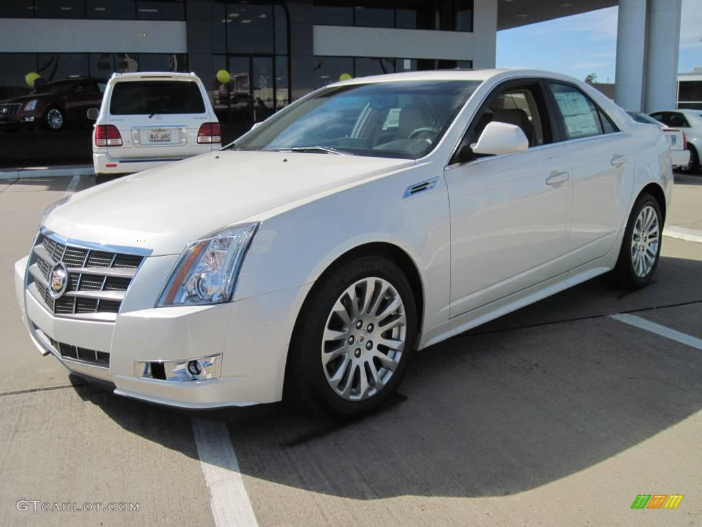 2010 white diamond tricoat cadillac cts 3 6 sedan 26210515 car color galleries. Black Bedroom Furniture Sets. Home Design Ideas
