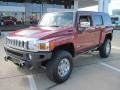 Red Rock Metallic 2010 Hummer H3 Alpha