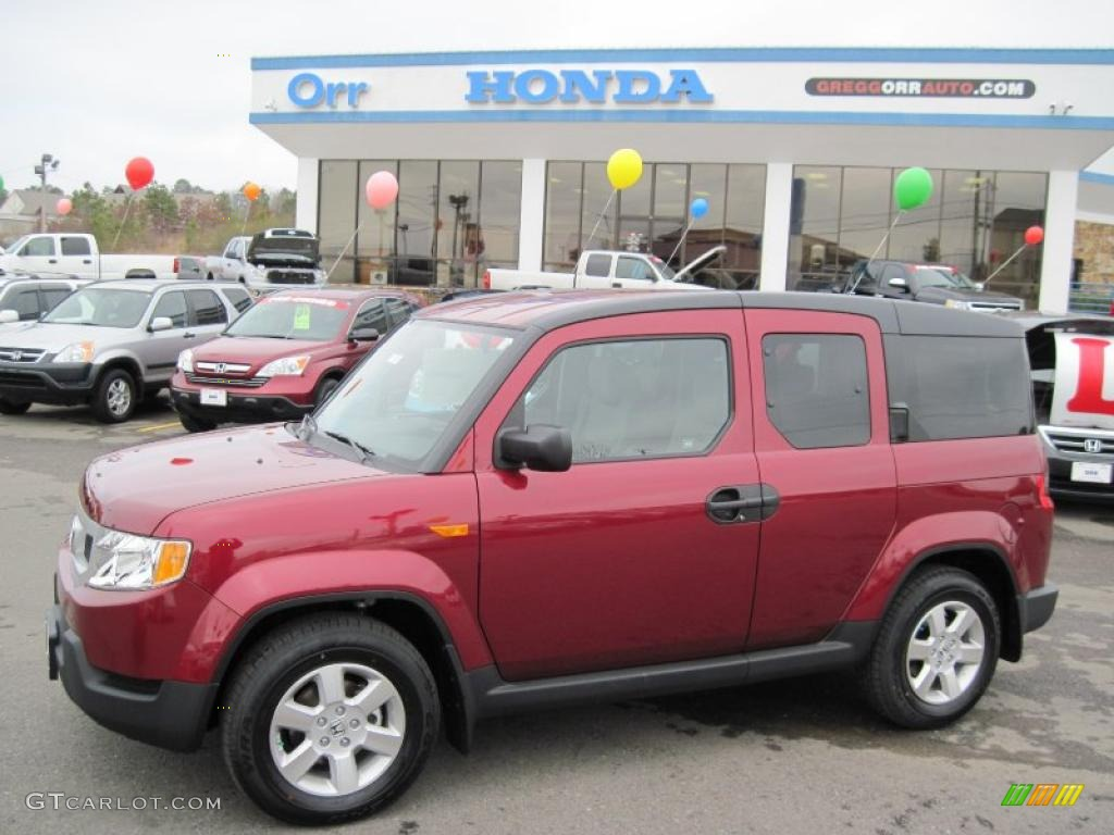 2010 Tango Red Pearl Honda Element Ex 26210427 Gtcarlot