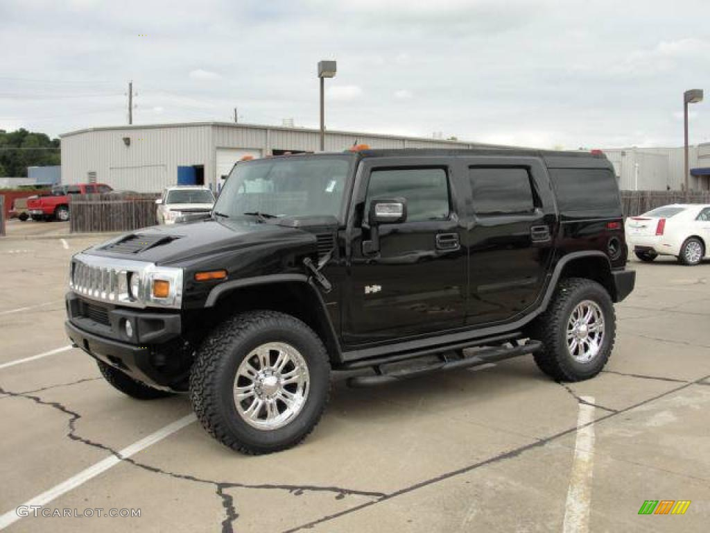 black hummer h2 cars - photo #5