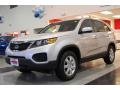 2011 Bright Silver Kia Sorento LX AWD  photo #3