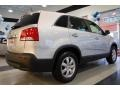 2011 Bright Silver Kia Sorento LX AWD  photo #8