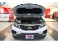 2011 Bright Silver Kia Sorento LX AWD  photo #23