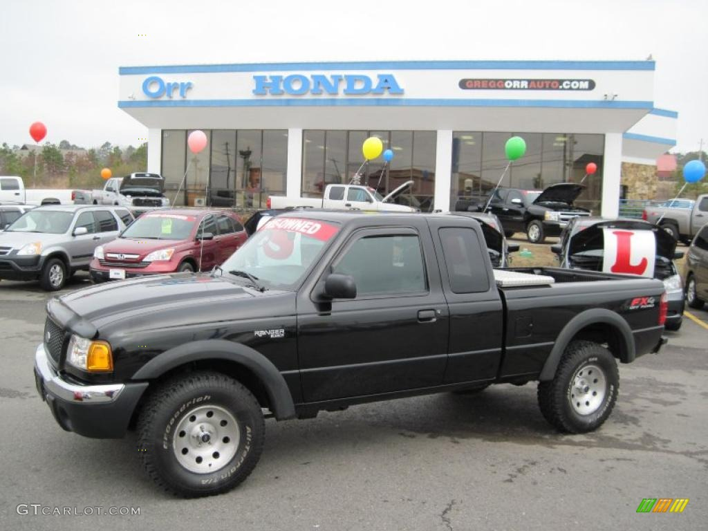 Black clearcoat ford ranger