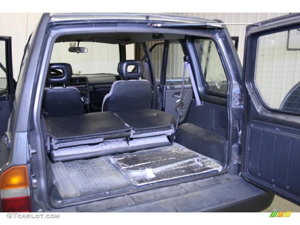 1994 medium gray metallic suzuki sidekick jx 4 door 4x4 for Interior suzuki samurai