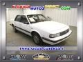 Bright White 1992 Oldsmobile Cutlass Ciera S