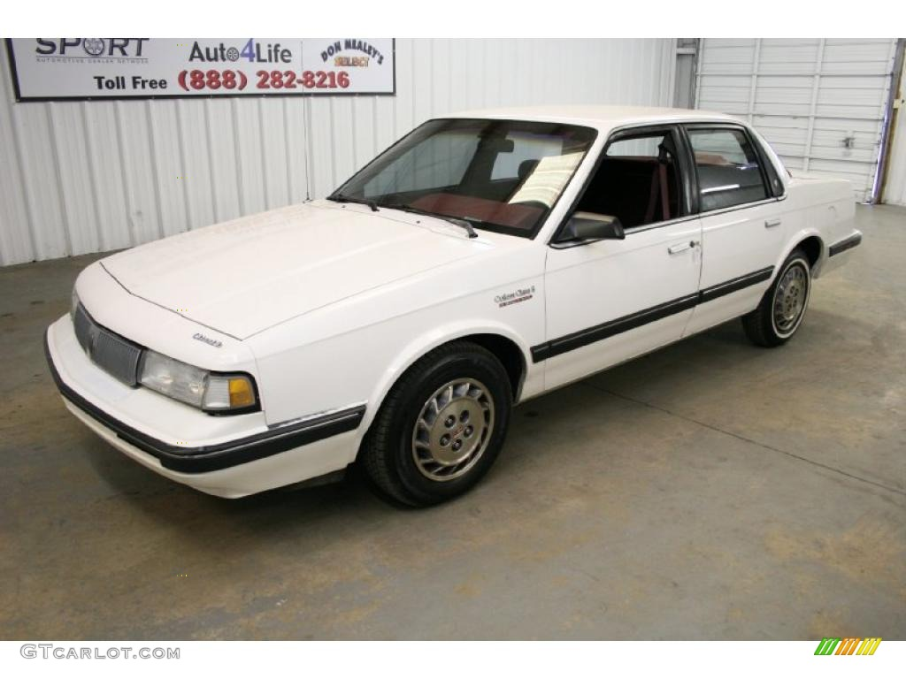 1992 bright white oldsmobile cutlass ciera s 26210748 photo 4 gtcarlot com car color galleries gtcarlot com