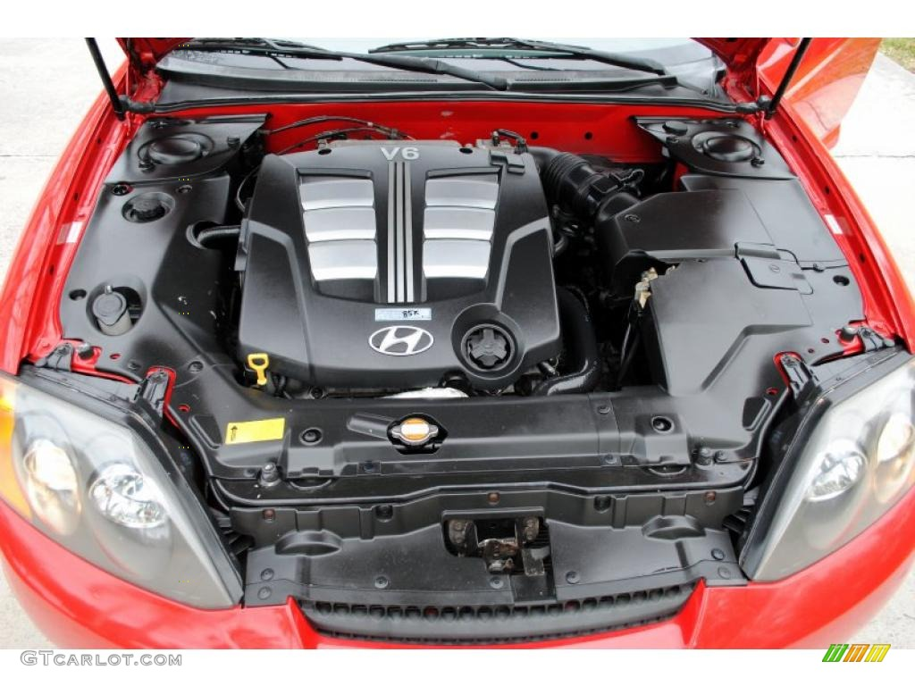 2003 Hyundai Tiburon Gt V6 2 7 Liter Dohc 24 Valve V6