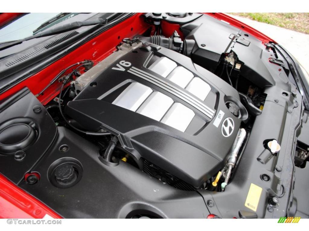2003 hyundai tiburon gt v6 2 7 liter dohc 24 valve v6 engine photo 26246728. Black Bedroom Furniture Sets. Home Design Ideas