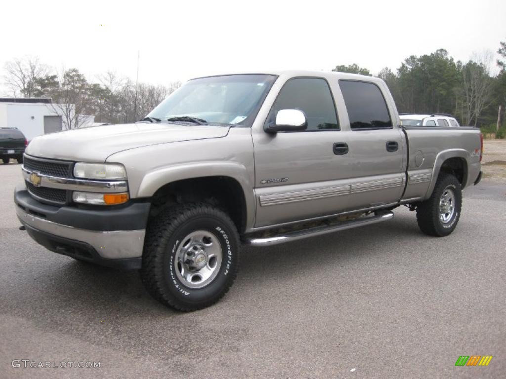 2001 chevrolet silverado 2500hd ls crew cab 4x4 light pewter. Cars Review. Best American Auto & Cars Review