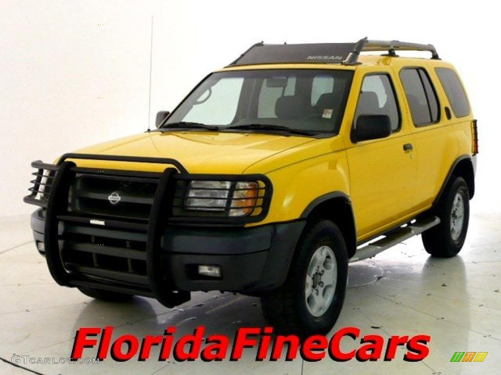 2000 solar yellow nissan xterra se v6 26210160 gtcarlot. Black Bedroom Furniture Sets. Home Design Ideas