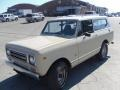 Tan 1978 International Scout II 4x4