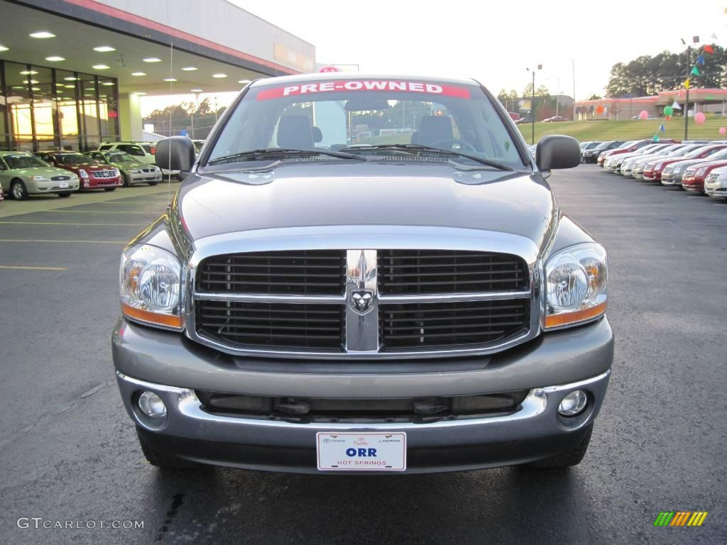 2006 Ram 1500 SLT TRX Quad Cab 4x4 - Mineral Gray Metallic / Medium Slate Gray photo #3