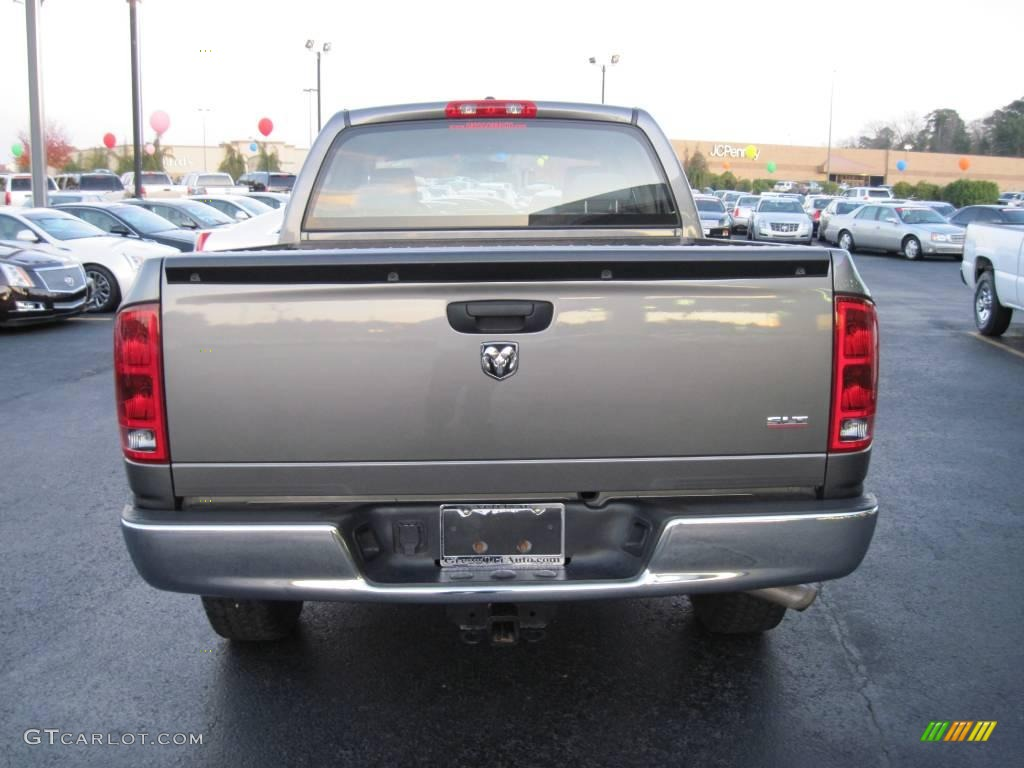 2006 Ram 1500 SLT TRX Quad Cab 4x4 - Mineral Gray Metallic / Medium Slate Gray photo #4