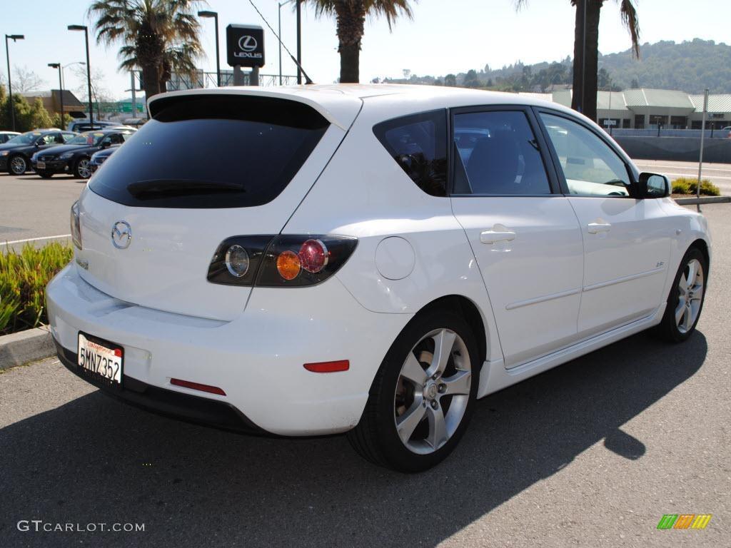 2005 rally white mazda mazda3 s hatchback 26258918 photo 3 car color galleries. Black Bedroom Furniture Sets. Home Design Ideas