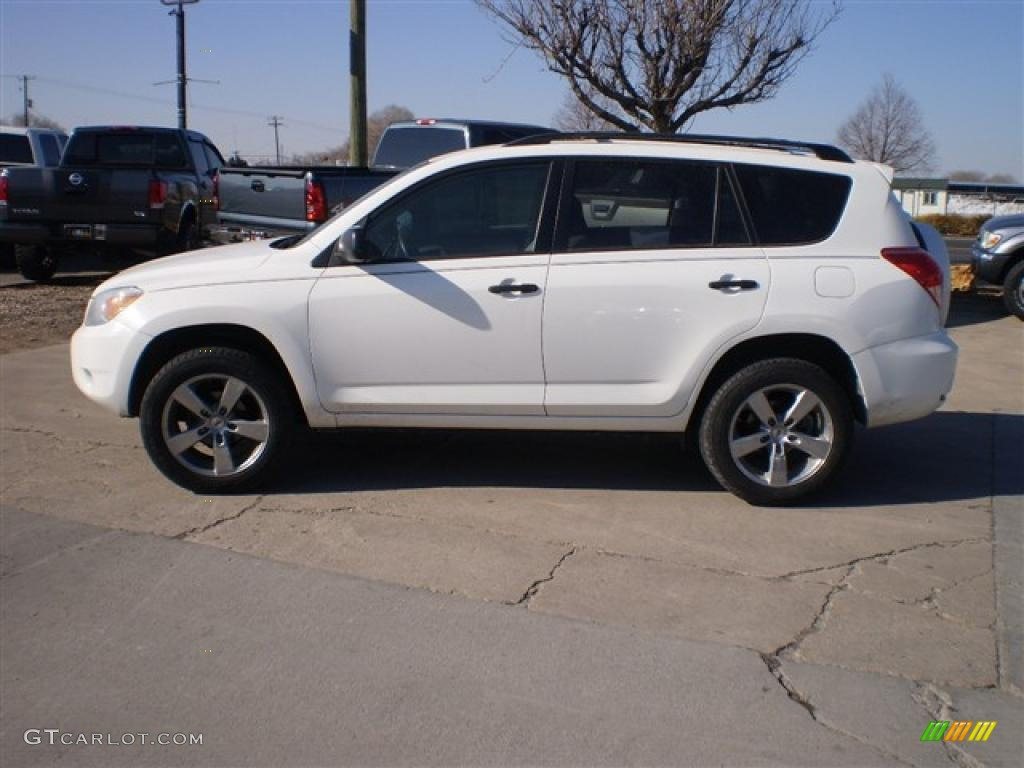 2006 super white toyota rav4 4wd 26258935 car color galleries. Black Bedroom Furniture Sets. Home Design Ideas