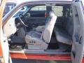 2001 Sunset Orange Metallic Chevrolet Silverado 1500 LT Extended Cab 4x4  photo #6