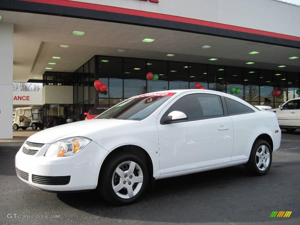 2007 summit white chevrolet cobalt lt coupe 26258657. Black Bedroom Furniture Sets. Home Design Ideas