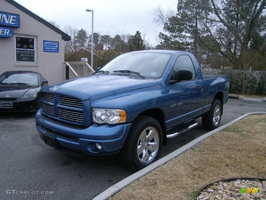 2003 Atlantic Blue Pearl Dodge Ram 1500 Slt Regular Cab