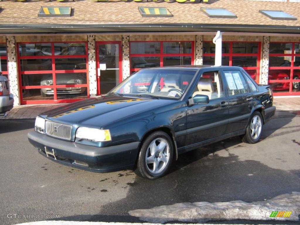 1995 Blue Green Metallic Volvo 850 Turbo Sedan 26258953
