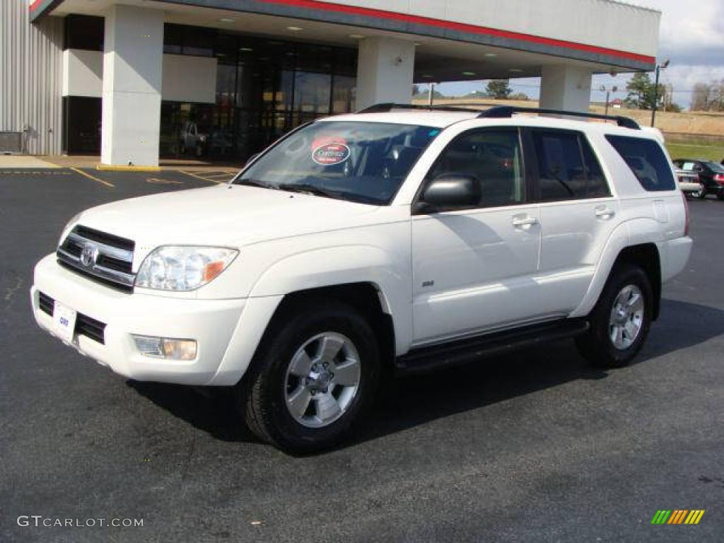 2005 Natural White Toyota 4runner Sr5 26258674 Gtcarlot Com Car Color Galleries