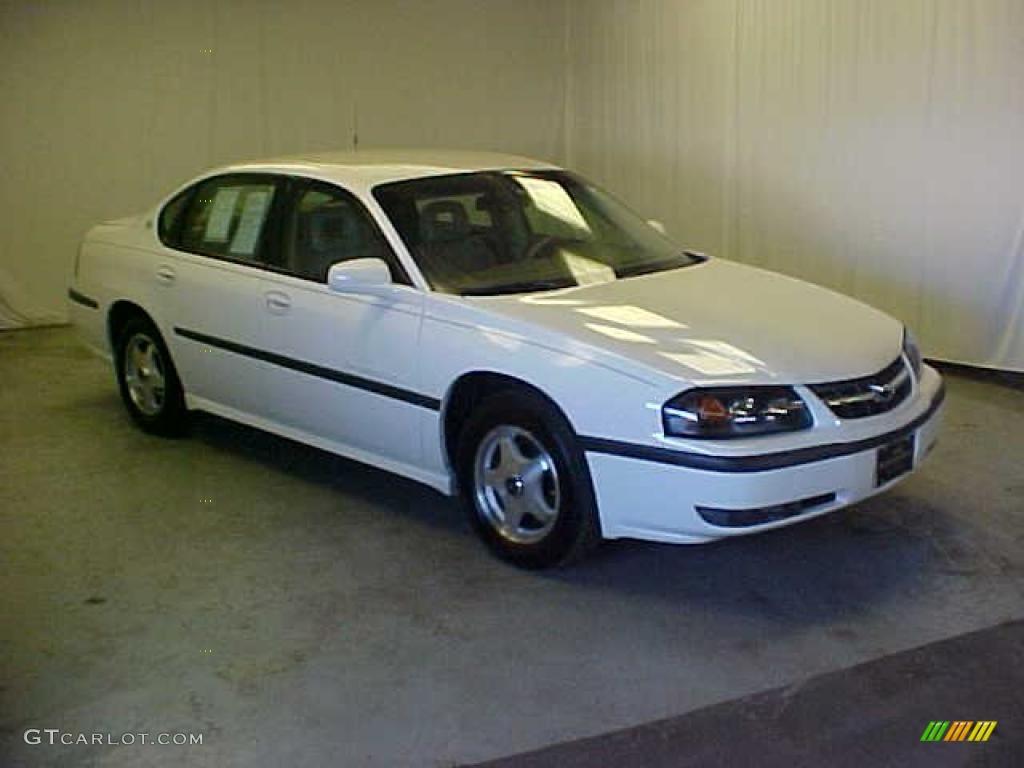 2002 White Chevrolet Impala Ls 26258807 Gtcarlot Com