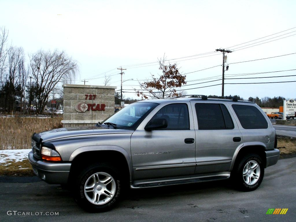Light pewter metallic dodge durango
