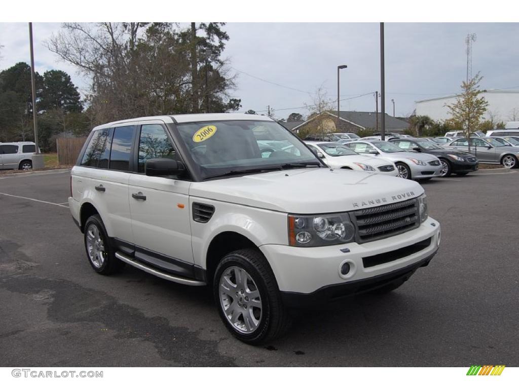 Land Rover Chawton White Paint