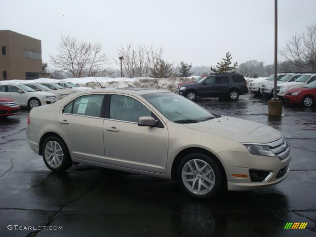 2010 Fusion SEL - Smokestone Metallic / Medium Light Stone photo #1