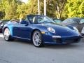 Aqua Blue Metallic - 911 Carrera S Cabriolet Photo No. 4
