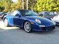 Aqua Blue Metallic - 911 Carrera S Cabriolet Photo No. 29