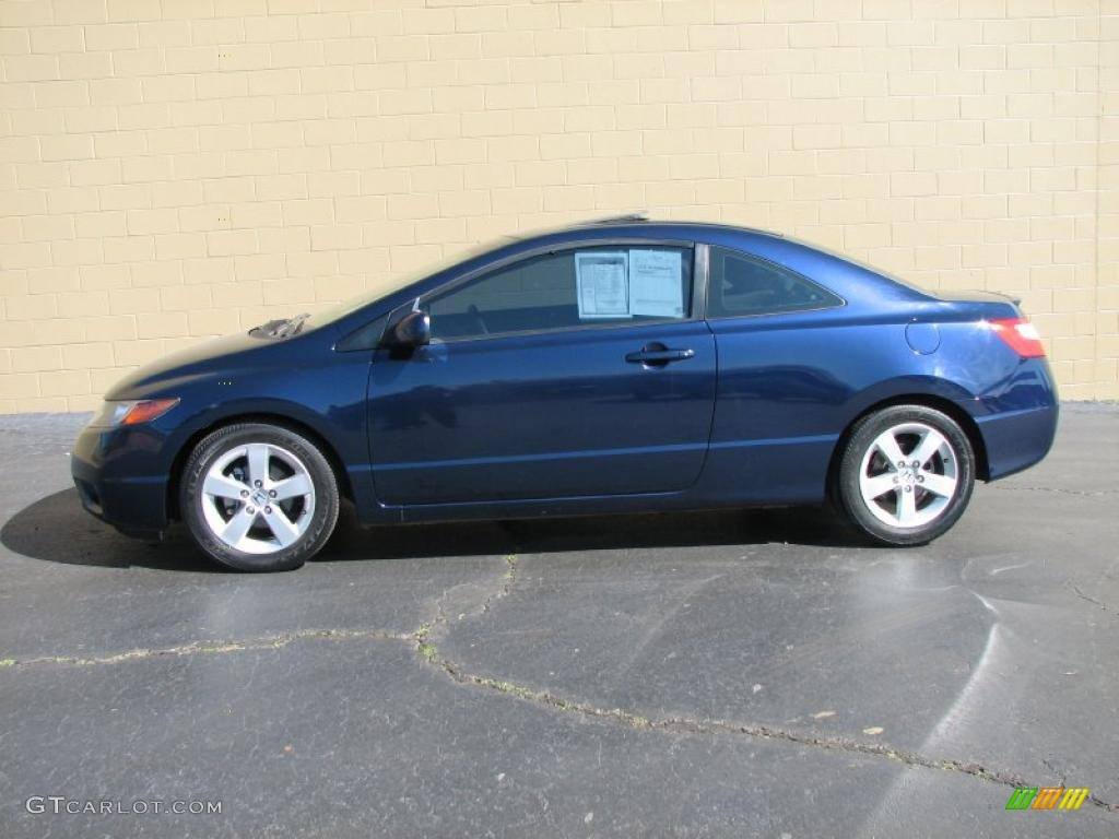 2006 royal blue pearl honda civic ex coupe 26307505 car color galleries. Black Bedroom Furniture Sets. Home Design Ideas