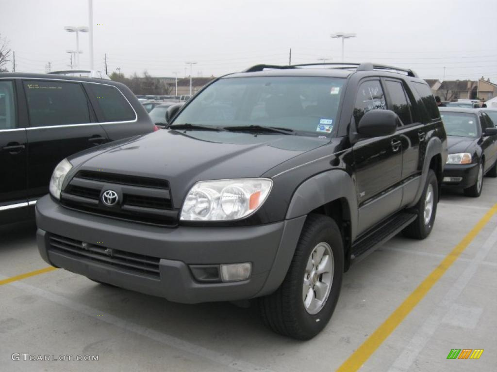 2003 black toyota 4runner sr5 26355779 car color galleries. Black Bedroom Furniture Sets. Home Design Ideas