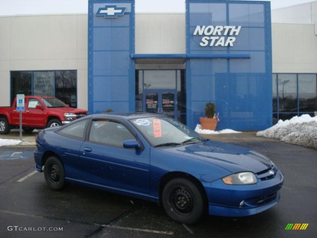2003 arrival blue metallic chevrolet cavalier ls sport coupe 26355629 gtcarlot com car color galleries gtcarlot com