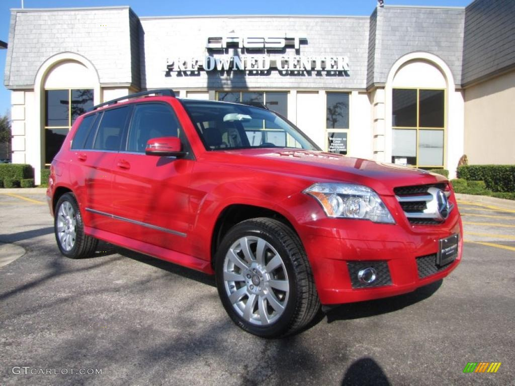 2010 Mars Red Mercedes Benz Glk 350 4matic 26355810