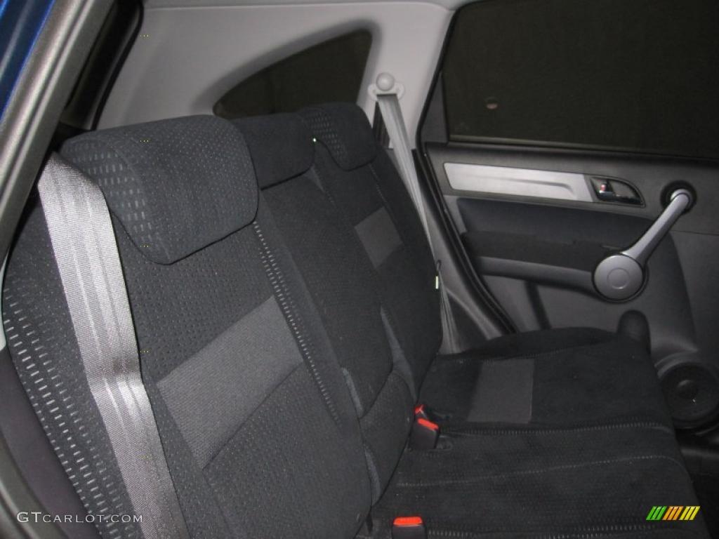 2008 CR-V EX 4WD - Royal Blue Pearl / Black photo #6
