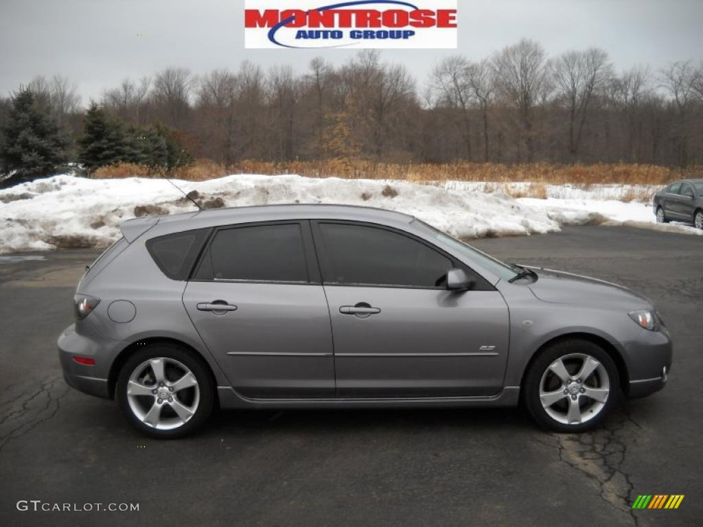 2006 titanium gray metallic mazda mazda3 s touring. Black Bedroom Furniture Sets. Home Design Ideas