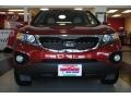 2011 Spicy Red Kia Sorento EX AWD  photo #12