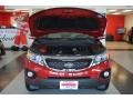 2011 Spicy Red Kia Sorento EX AWD  photo #24