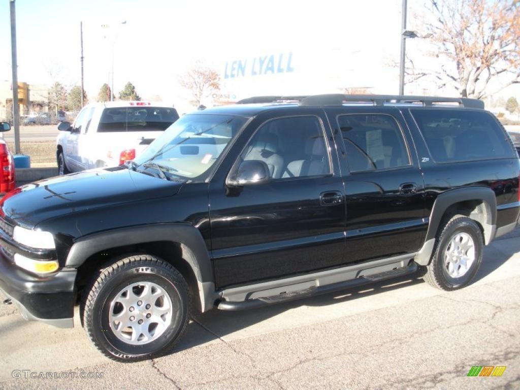 2003 black chevrolet suburban 1500 z71 4x4 26399123 gtcarlot com car color galleries gtcarlot com