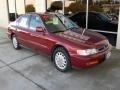 Bordeaux Red Pearl 1996 Honda Accord EX Sedan