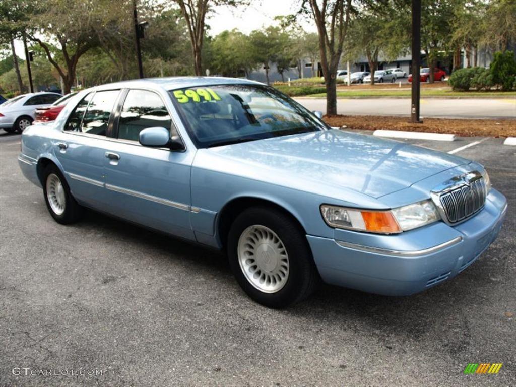 2001 light blue metallic mercury grand marquis ls 26399010 gtcarlot com car color galleries gtcarlot com